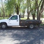 1997 CHEVY 1 TON FLATBED