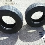Used 325-65-18 8 ply tires