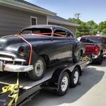 1949 Chevy Styleline Sedan Deluxe Chop top