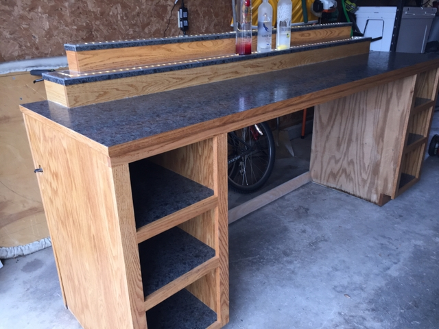 Oak Bar - Hand Crafted