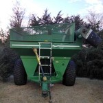 1994 EZ Trail 475 Grain Cart