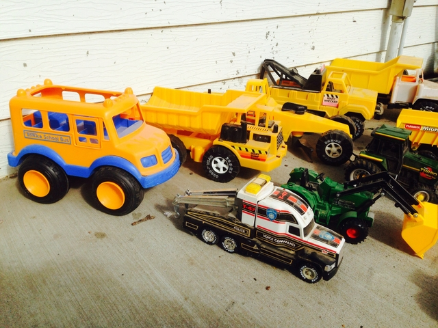 Tonka Construction Toys For Boys : Little boys dream tonka construction tractor toys nex