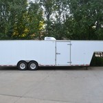 34ft Enclosed Trailer