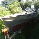 LARSON BOAT Reduced Price
