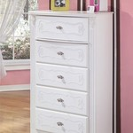 Ashley Furniture girls White dresser NEW