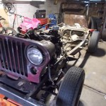 cj7  automatic trans ..motor ..and alot of other parts
