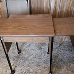 Drop leaf typewriter table