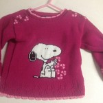 3t snoopy sweater