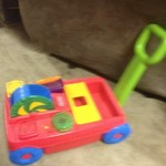 Fisher-Price wagon