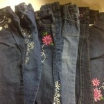 3t Little girls jeans lot #1