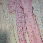 3t footed long sleeved pajamas lot#1