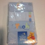 6mo 12-16 lbs Disney pooh 4pack bodysuits . New in package