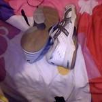 basics tennishoes size 9 hardly worn