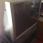 "42"" Hitachi TV with stand"