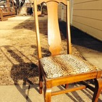Antique Straight-Back Chair