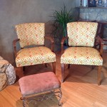 pair Mid Century Modern Chairs