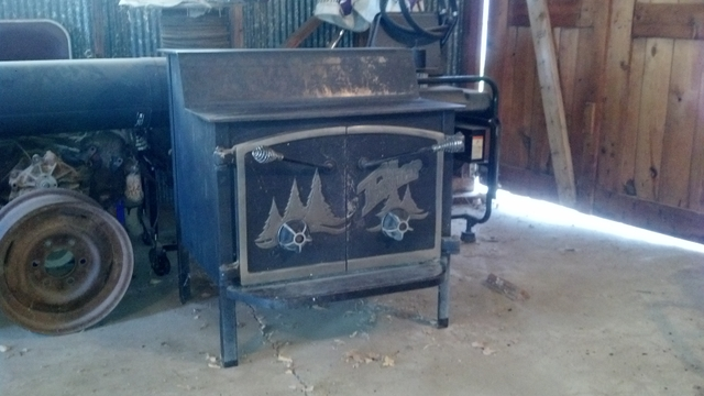 1 of 0 - Fisher Grandpa Bear Wood Stove. - Nex-Tech Classifieds