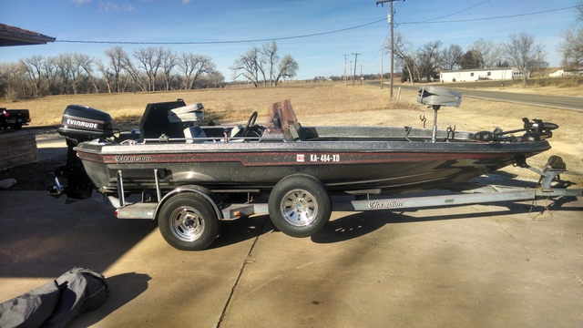 1988 champion bass boat pictures to pin on pinterest