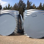 5'x6' 5'x5' 6'x6' meter cans and Heavy Duty Lids
