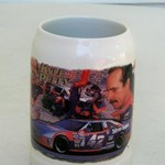 VINTAGE COORS LIGHT/KYLE PETTY RACING STEIN