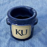 KU JAYHAWKS SMALL CROCK