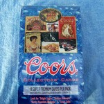 SEALED BOX OF COORS COLLECTOR'S CARDS