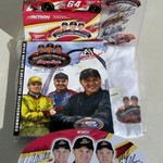 NASCAR RUSTY/KENNY/MIKE WALLACE ULTIMATE AUTOGRAPHED FAN PKG