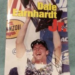 AUTOGRAPHED DALE EARNHARDT, JR. BOOK