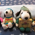 RUSSELL STOVERS PEANUTS STUFFED ANIMALS