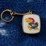 COOL KU JAYHAWKS MUSICAL KEY CHAIN