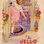 "VINTAGE BOOKLET ""THE JELLO GIRL ENTERTAINS"""