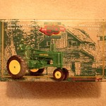 JOHN DEERE / ERTLE 50TH 1/64 A TRACTOR WITH FARMER