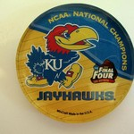 KANSAS JAYHAWKS 2008 NATIONAL CHAMPS MAGNET 5