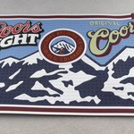 COORS/COORS LIGHT RUBBER BAR MAT