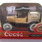 COORS DIE CAST BANK 12