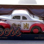 COORS DIE CAST BANK 13