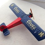 COORS DIE CAST PLANE BANK 3