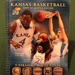 KU JAYHAWKS BASKETBALL 09-10 MEDIA GUIDE