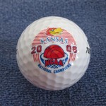KU JAYHAWKS 2008 BASKETBALL NATL CHAMPS GOLF BALL