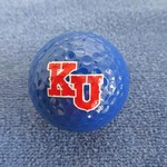 KU JAYHAWKS GOLF BALL 1