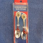 KU JAYHAWKS SMALL SPOON & FORK