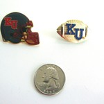KU JAYHAWKS FOOTBALL LAPEL PINS
