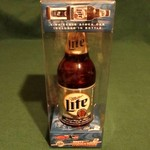 AUTOGRAPHED RUSTY WALLACE MILLER LITE BOTTLE CAR