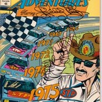 AUTOGRAPHED RICHARD PETTY VINTAGE COMIC BOOK NO. 2