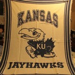 KU JAYHAWKS THROW 1