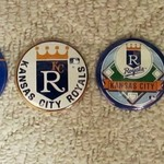 VINTAGE KC ROYALS BUTTONS