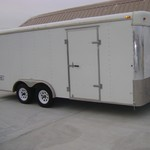 2002 Haulmark Enclosed Trailer 8X18