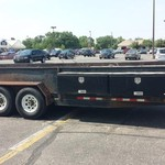 Heavy duty 20' PJ trailer with 7K lb. axles