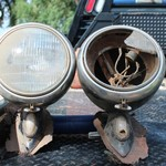 1937 Ford truck headlights