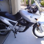 1999 F650 BMW motorcycle